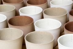 lovely shapes in these mug/bowls