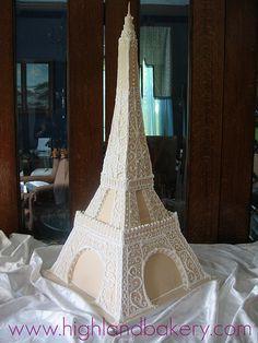 Eiffel Tower Cake by Karen Portaleo/ Highland Bakery, via Flickr