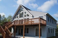 The Falcons Ridge Lodge is a marvelous home situated at the end of a private lane with a picturesque view of the lake in Towamensing Trails. The Falcons Ridge Lodge was newly renovated in 2012. It is a 3 story, 3600 square foot house that has a total of 7 bedrooms and 3 full baths.