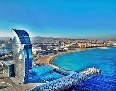 Barcelona Beach (Mediterranean Sea) - Barcelona, Spain