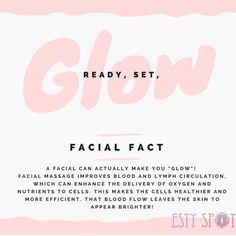Glowing skin is ALWAYS in! Book your facial treatment with me and let me show you how to glow even when you're not getting a facial. Booking link in bio ☝🏽 ~ ~ ~ Facial Treatment, Skin Treatments, Skin Script, Anti Aging, Facial Massage, Spa Facial Room, Skin Tips, Glowing Skin, Beauty Skin
