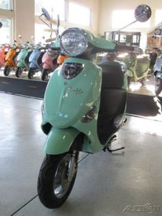 My new scooter! 2012 Genuine Scooter Co. Buddy 50 49 cc RFVPAP5A1C1008652 - Woodland Travel Center - Grand Rapids, Michigan