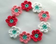 Crochet Flowers for Spring | by AnnieDesign