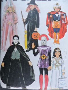 SeeSallySew.com - Alien Princess Superboy Dracula Angel Child's Costume Halloween Stage Play McCall's 7316 Pattern Sz. 4 - 6  , $12.00 (http://stores.seesallysew.com/alien-princess-superboy-dracula-angel-childs-costume-halloween-stage-play-mccalls-7316-pattern-sz-4-6/)