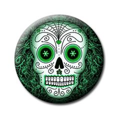 sugar skull mor Dia de los Muertos...is it odd that i have a deap interest in this hispanic holiday but do not activily celebrate?