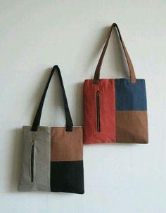 DIY bag with outside pocket