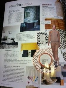 We are so excited to see our Perfect Headboards featured in the 'Interiors News' Section of Irish Tatler Magazine.