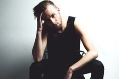 Model: Andrew Jack Harvath Stylization: Andrew Jack Harvath Photographer: Andrew Grierson