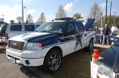 Dallas Cowboys Ford Pick-Up Truck Custom Paintjob Very Slick!