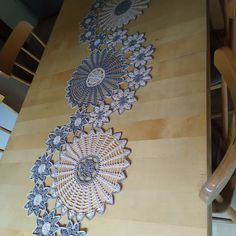 Crochet Table Mat, Home Decor, Manualidades, Decoration Home, Room Decor, Home Interior Design, Home Decoration, Interior Design