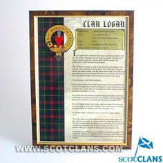 Logan Framed Clan Hi