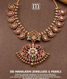 Antique Jewellery Designs, Gold Jewellery Design, Antique Jewelry, Kids Gold Jewellery, Mango Mala Jewellery, Gold Wedding Jewelry, Gold Jewelry, Jewelry Sets, Bridal Jewelry