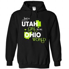 A UTAH-OHIO girl Lime03 - #unique gift #cheap gift. LOWEST PRICE => https://www.sunfrog.com/States/A-UTAH-2DOHIO-girl-Lime03-Black-Hoodie.html?68278
