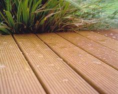 HORI Terrassendielen Douglasie europäisch einseitig geriffelt 27 x 140 mm