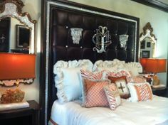 donna moss designs | ... Headboard as seen on Donna Decorates Dallas by Donna Moss Designs
