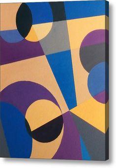 Abstract Composition 6 Canvas Print / Canvas Art by Johanna Hurmerinta Oil Painting Abstract, Diy Painting, Abstract Art, Canvas Art, Canvas Prints, Geometry Art, Panel Art, Landscape Art, Fine Art America