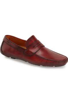 ba1ed729b Magnanni  Dylan  Leather Driving Shoe (Men)