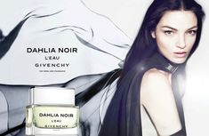 """Mariacarla Boscono Lightens Up for Givenchy's """"Dahlia Noir L'Eau"""" Fragrance Campaign 