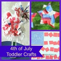 4th of July Toddler Crafts