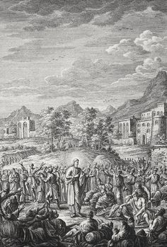 Phillip Medhurst presents Bowyer Bible Gospels print 3554 Christ heals the sick Matthew 4:24 Pintz on Flickr.  A print from the Bowyer Bible a grangerised copy of Macklins Bible in Bolton Museum and Archives England. Photograph of a print in the Phillip Medhurst Collection (owned by Philip De Vere) at St. Georges Court Kidderminster.