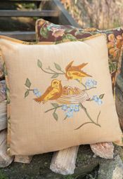 April Cornell Cushions: April Cornell Cusion Cover, Quilted Cushion Covers