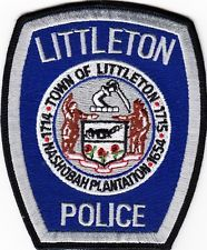 MASSACHUSETTS  -  LITTLETON   POLICE  DEPARTMENT       Patch