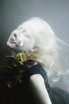"darkbeautymag:""Invent the Universe"" — Photographer: Mira NedyalkovaModel: Desislava Nikolova"