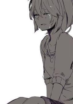 22 Best Anime Crying Images On Pinterest Anime Art Manga Drawing