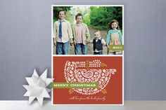 Christmas Goose Christmas Card from Minted