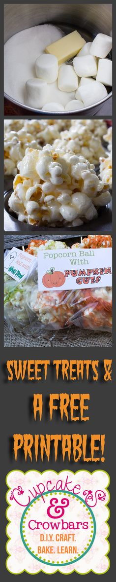 A fun & sweet treat for the Ghouling Season! via http://cupcakesandcrowbars.com @cupcakescrowbar