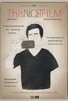 THIS IS NOT A FILM. Iranian documentary. Directed by Jafar Panahi. 2011