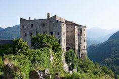 Castel Pergine - Ansicht von Süden