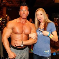 Got to meet #bodybeast trainer, @sagikalevthebeast!