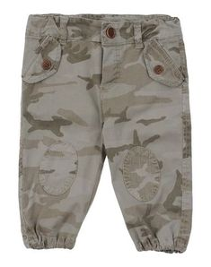 BABE & TESS Boy's' Casual pants Military green 12 months