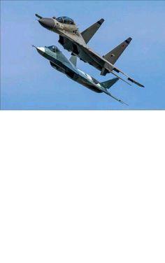 T-50 PAK FA & Su-30