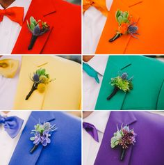 rainbow wedding color trends | ... color of the rainbow and I thought it was so ridiculously awesome and