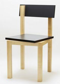Portrait in Chair by Akio Hayakawa #chaise et asymétrie