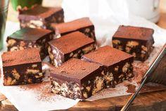 Chocolate fridge slice main image