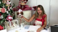 Claretta Folletta by Renkalik Felt Christmas Ornaments, Christmas Gnome, Ornament Tutorial, Types Of Craft, Crochet Dolls, Gnomes, Diy Crafts, Holiday Decor, Youtube