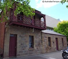 Terraced workers cottages in Melbourne Vic