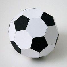 FREE SVG DIY 3D soccer ball football                                                                                                                                                                                 Mais