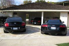 fill garage with black sports cars...achievement unlocked!