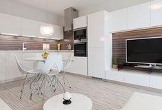 Monochromatic Apartment in Bratislava by Goldfish-Interiors