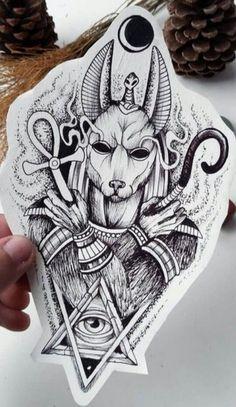 Egypt Tattoo Design, Tattoo Design Drawings, Tattoo Sleeve Designs, Tattoo Sketches, Tattoo Designs Men, Forearm Tattoo Design, Gott Tattoos, Bild Tattoos, Leg Tattoos