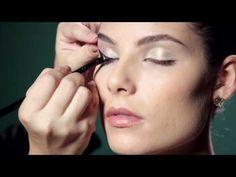 Maquiagem passo a passo - Olhos Delineados Contém1g