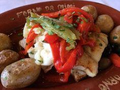 Bacalhau no Restaurante Forno da Mimi