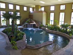 Meh (imaginary...lol) indoor swimming pool in my 'dream home' ;)