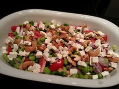 Salad with Edemame beans