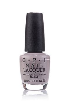 """When this lavender-infused shade appeared on my desk, I had a serious moment (Seriously, I may have alarmed my officemates with my Herbal-Essences-esque exclaims of, """"Oh, yes!"""") I can't wait to get it on my tips. OPI Nail Lacquer in Taupe-Less Beach, $9"""