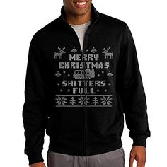 7d0fdf0d807 BABA Merry Christmas Mens Cool Jacket M Black     Check out this great  product